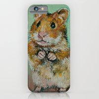 iPhone & iPod Case featuring Hamster by Michael Creese