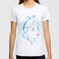 Alice Womens Fitted Tee Ash Grey SMALL