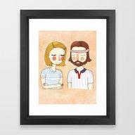 Secretly In Love Framed Art Print