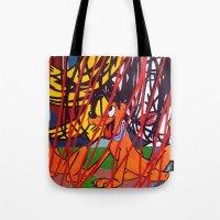 LICHTENSTEIN/ PLUTO Tote Bag