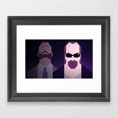 Kane & Lynch Framed Art Print