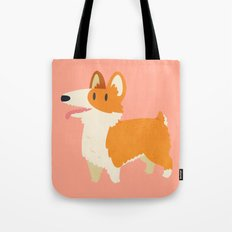Cute Fluffy Corgi Tote Bag