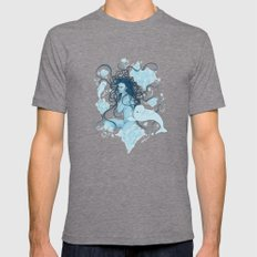 ICE (Beluga) Mens Fitted Tee Tri-Grey SMALL