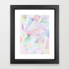горизонт Framed Art Print