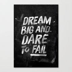 II. Dream big Canvas Print