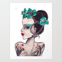 DESDEMONA Art Print