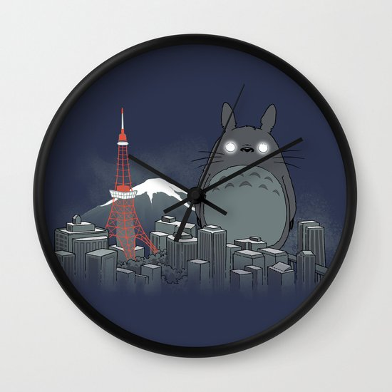 My Angry Neighbor Wall Clock
