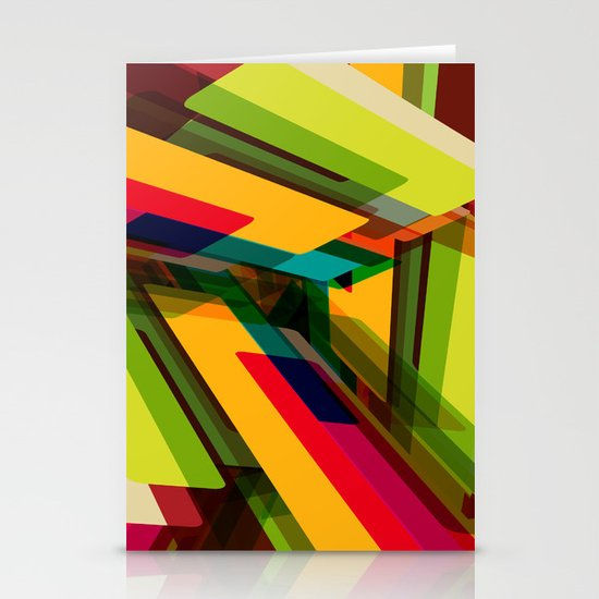 Field of Colors Stationery Card