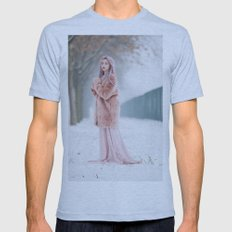 Snow Queen Mens Fitted Tee Athletic Blue SMALL