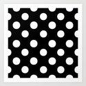 Polka Dots.. Art Print