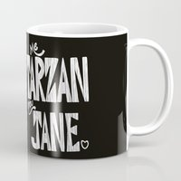 ME TARZAN YOU JANE. Mug