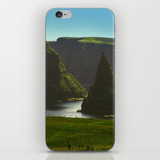 Sea Stacks at Duncansby Head iPhone & iPod Skin