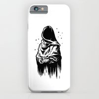 Time (Black and White) iPhone 6 Slim Case
