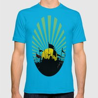 Seventh Son of the Seventh Son Mens Fitted Tee Teal SMALL