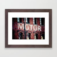 Rev up Framed Art Print