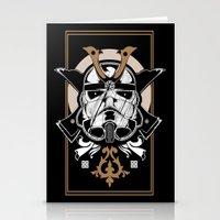 Trooper x Samurai Stationery Cards