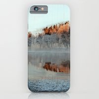 iPhone & iPod Case featuring Among Mountains and Lakes by Okti