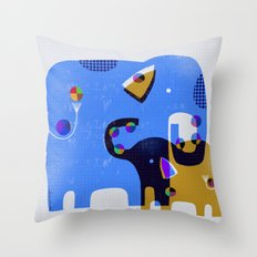 JUGGLING LESSONS Throw Pillow