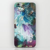 The Garden -Abstract palette art iPhone & iPod Skin