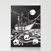 Steamboat Across The Sty… Stationery Cards
