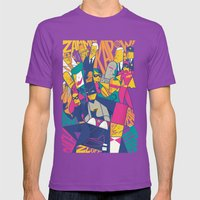 1966 Mens Fitted Tee Ultraviolet SMALL