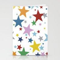 Stars Multi Stationery Cards