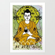 Higher Buddha Self Art Print