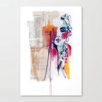 Sense V Canvas Print