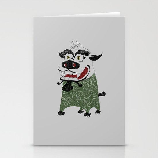 Shishi 獅 Stationery Card