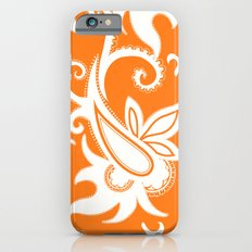 Paisley: Orange Ivory Slim Case iPhone 6s