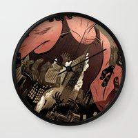 Escape From New York Poster Wall Clock