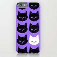 Cats Purple iPhone 6 Slim Case
