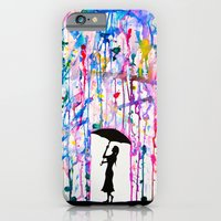 iPhone Cases featuring Deluge by Marc Allante