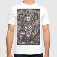 In God We Rust  Mens Fitted Tee White SMALL