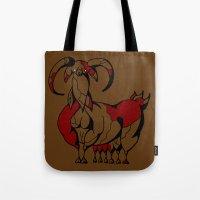 Fat Goat Tote Bag