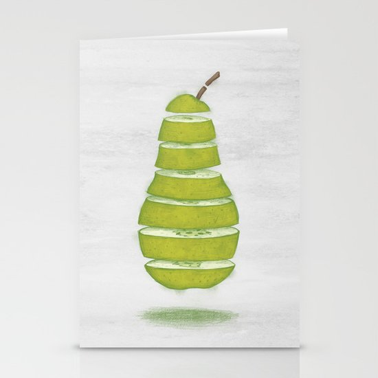 A Pear Apart Stationery Card