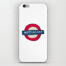 tube sign iPhone & iPod Skin