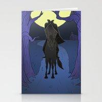 The Headless Horseman Stationery Cards