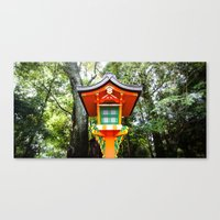 Inari Shrine Canvas Print
