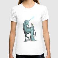 unicorn T-shirts featuring Unicorn by Egberto Fuentes