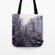 Shinjuku Skyline Tote Bag