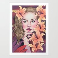 I'd be love and sweetness if I had you Art Print
