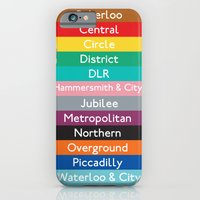 iPhone & iPod Case featuring London Underground by Scott - GameRiot