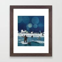 Surfers Hymn.  Framed Art Print