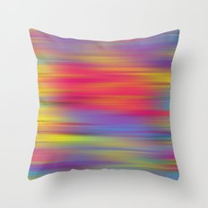 All The Colors  Throw Pillow