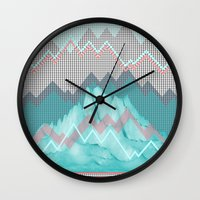 FLAT RELIEF Wall Clock