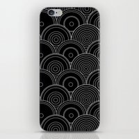 Black & white Idea iPhone & iPod Skin