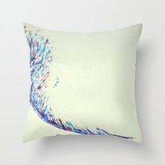 Feather Strike Throw Pillow