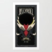 Jellyroll #4: Lies Art Print