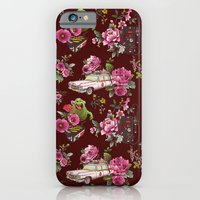 iPhone Cases featuring Ecto Floral by Josh Ln